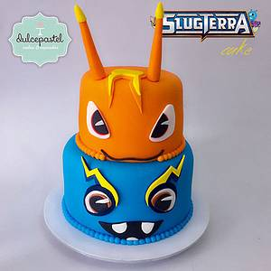 Torta Bajoterra  - Slugterra Cake - Cake by Dulcepastel.com