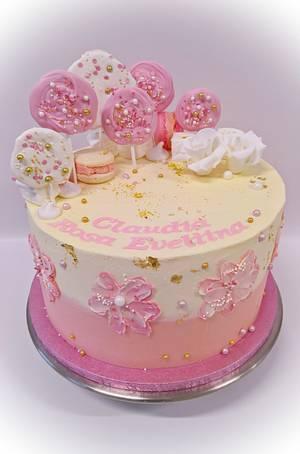 lollipop cake - Cake by claire cowburn