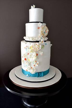 The Sugar Nursery's Fashion-Inspired Cake - Cake by The Sugar Nursery - Cake Shop & Imaginarium