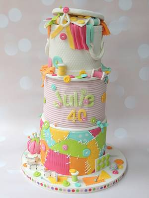 Love Sewing - Cake by Shereen