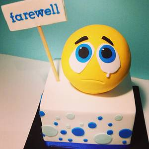 Farewell Cake - Cake by Zelicious