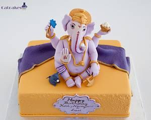 Ganesha cake - Cake by Catcakes
