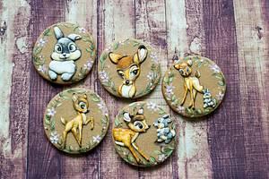 Bambi cookies - Cake by Vanilla & Me
