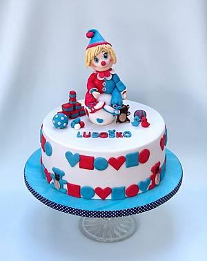 clown  - Cake by Zuzana Bezakova
