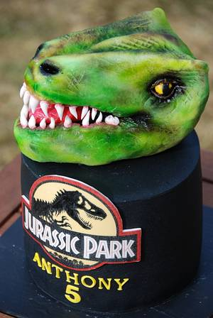 JURASSIC PARK - Cake by Lucie