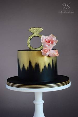 Chic hen party cake - Cake by Emma Stewart