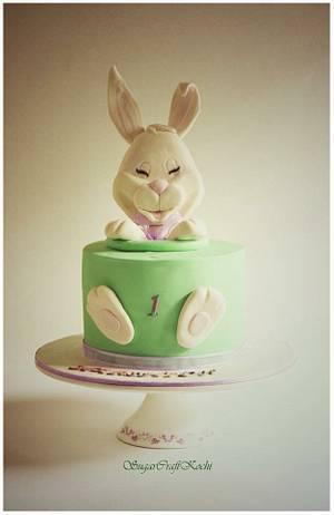 Bunny cake  - Cake by Jaya Lakshmi Deepak