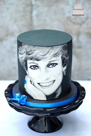 CPC Princess Diana Collaboration - Cake by Sylwia