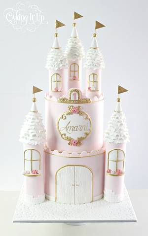 Regal Princess Castle Cake - Cake by Caking It Up