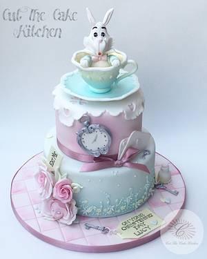 Alice Christening Cake - Cake by Emma Lake - Cut The Cake Kitchen