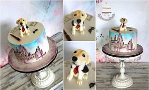 Harry Potter labrador puppy :) - Cake by Sylwia
