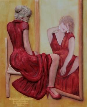 Mirror - Cake by Suzanne Readman - Cakin' Faerie