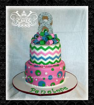 Penelope - Cake by Occasional Cakes