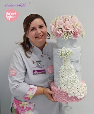 Romantic Wedding Cake - Cake by Catalina Anghel azúcar'arte