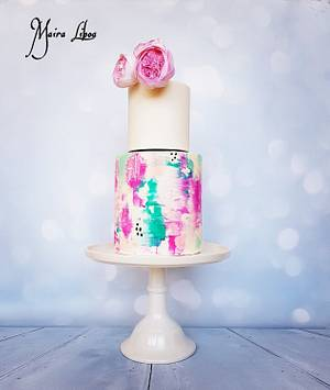 My birthday cake - Cake by Maira Liboa