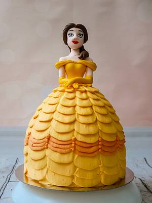 Belle from Beauty and the beast - Cake by Silviya Dimitrova