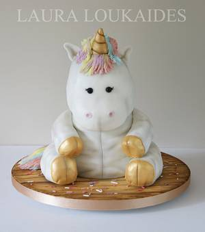 Sprinkles the Toy Unicorn - Cake by Laura Loukaides