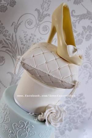 Wedding cake - Cake by Zoe's Fancy Cakes