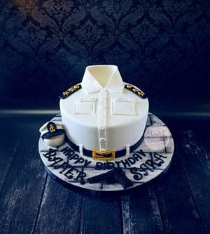 Egyptian Police First Lieutenant Cake🇪🇬 - Cake by Hend Taha-HODZI CAKES