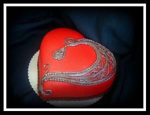 gothic heart - Cake by Ildikó Dudek