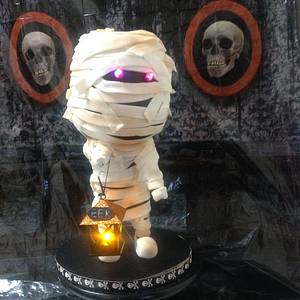 Trick or Treat Mummy - Cake by Margie