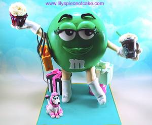 3D chocolate candy cake - Cake by Lily's Piece of Cake, LLC
