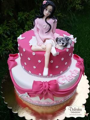 Torta tenera amicizia - Sweet friendship cake - Cake by Dolcidea creazioni