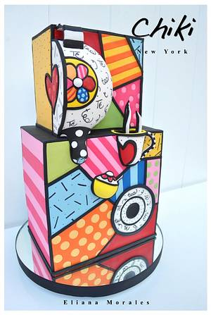 Chiki Tea Party - Cake by Chiki