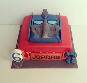 Optimus prime cake - Cake by novita