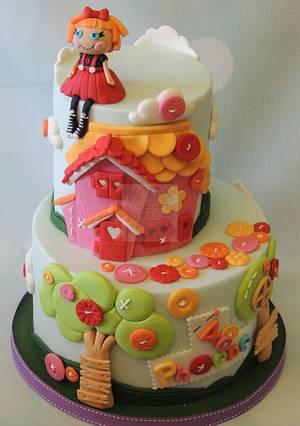 Lalaloopsy! - Cake by Shereen