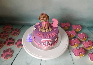 Paw Patrol Skye - Cake by Pluympjescake
