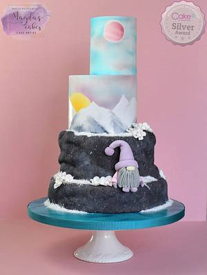 Fantasy Winter Wonderland - Cake International 2018 - Cake by Magda's Cakes (Magda Pietkiewicz)