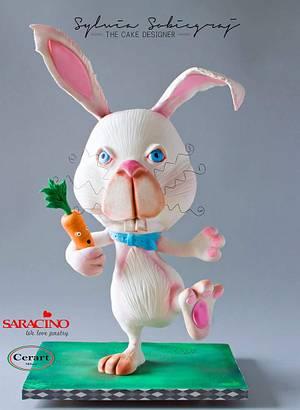 The Bunny Cake - Cake by Sylwia Sobiegraj The Cake Designer