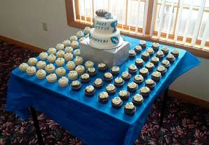 Little Pioneer Football and Cheer 2015 - Cake by m1bame