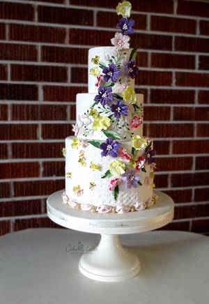 Summer blossoms - Cake by Cake Heart