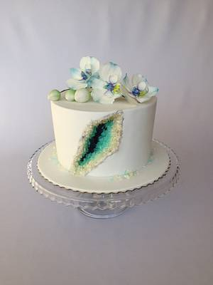 Geode cake  - Cake by Layla A
