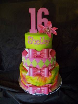 Sweet 16 - Cake by Sarah Myers