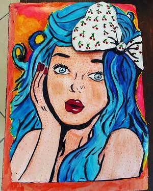 Cake pop Art  - Cake by Hope Segura
