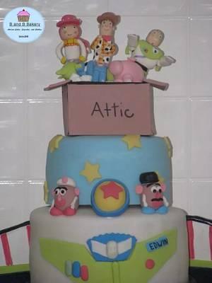 Toy Story Cake - Cake by CakeLuv