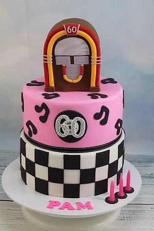 Rock n Roll - Cake by Kake Krumbs