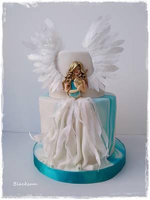 Sweet Angel - Cake by Zuzana Kmecova