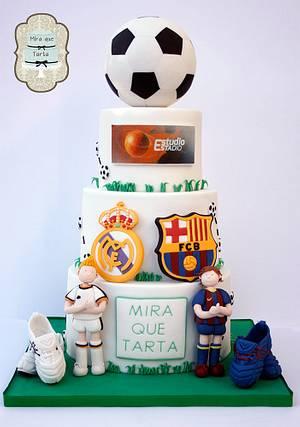 Big game - Cake by miraquetarta