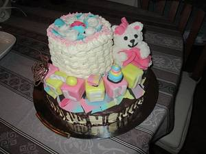 A different cake for baptism - Cake by Marica