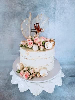 Confirmation cake - Cake by alenascakes