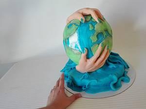 earth - Cake by carlaquintas