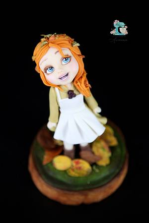 Welcome Autumn  - Cake by Arianna
