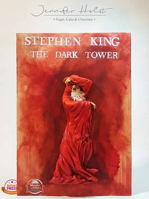 The Red Lord - The King of Horror Collaboration  - Cake by Jennifer Holst • Sugar, Cake & Chocolate •