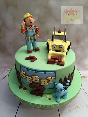 Bob the Builder - Cake by Elaine - Ginger Cat Cakery