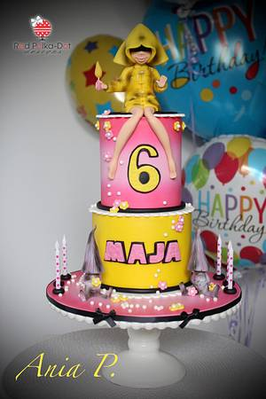 LITTLE NIGHTMARES....yes the game! - Cake by RED POLKA DOT DESIGNS (was GMSSC)
