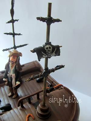 Caribbean pirates cake - Cake by simplyblue